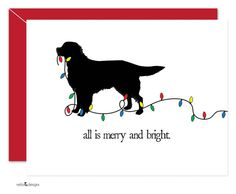 Golden Retriever Holiday Cards Christmas Cards by nelladesigns, $17.50