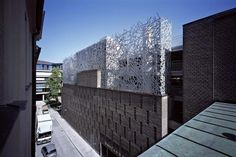 Peter Haimerl Architektur — Xxwands: Multi-storex Car Park 'salvatorplatz 3' — Image 1 of 8 — Europaconcorsi