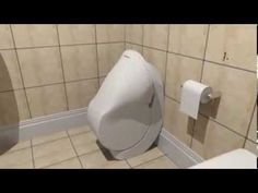 "▶ ""Iota"" Folding Toilet, by Gareth Humphreys & Elliott Whiteley - two design students at the University of Huddersfield in West Yorkshire, England. 