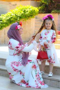 Little Nina Dress Mommy Daughter Dresses, Mother Daughter Matching Outfits, Mother Daughter Fashion, Mom Daughter, Dress Name, Mom Dress, Baby Dress, Belle Dress, Eid Dresses