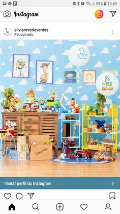 Jesse Toy Story, Toy Story 3, Toy Story Party, Toy Story Birthday, 2 Year Old Birthday Party, Boy Birthday Parties, 3rd Birthday, Festa Toy Store, Toy Story Bedroom