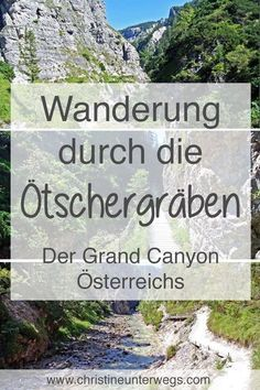 Fancy one through the # Ötschergräben in the Here you will find mine # Hiking report over the Grand Canyon of Austria: Acadia National Park Camping, Grand Canyon Camping, Grand Canyon National Park, Us National Parks, Hiking Tips, Camping And Hiking, Camping Tips, State Parks, Camping San Sebastian