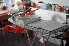 Use an ironing board as temporary extra space if you run out of counters. 19 Life-Changing Baking Tips From Professional Bakers Baking Secrets, Baking Tips, Baking Hacks, Baking Basics, Baking Ideas, Space Saving Table, David Lebovitz, Kneading Dough, Shaped Cookie