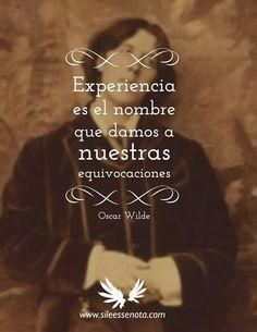 Oscar Wilde.*