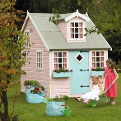 Play house...perfect for the girls!