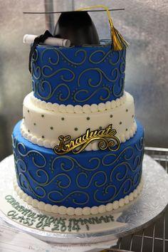 The Blue Graduate #74Graduation by Michael Angelo's Bakery | Michael Angelo's Bakery