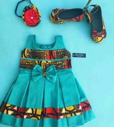 Ankara styles are one of the best common African clothing trends for both men and women of all ages, which it is not that surprising that Ankara Ankara Styles For Kids, African Dresses For Kids, African Children, African Print Dresses, Dresses Kids Girl, African Print Fashion, African Fashion Dresses, Kids Outfits, Baby Dresses