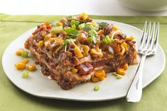 Mexican Layer Bake-Love this. I use ground turkey instead though