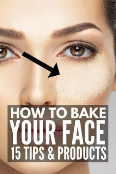 Techniques baking Makeup Baking for Beginners Makeup Tips Foundation, Beauty Makeup Tips, Day Makeup, Foundation Application, Makeup Style, Makeup Tools, Makeup Ideas, Real Techniques, Makeup Techniques
