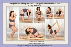 Amazing pregnancy yoga poses! How flexible are you!