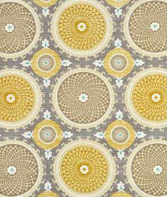 Waverly Bohemian Swirl Pumice Fabric - $17.35 | onlinefabricstore.net