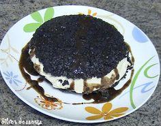 Coffee-chocolate biscuit sandwich, like TGI's Oreo Madness