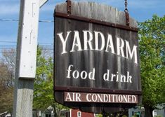 """The Yardarm has been an Orleans landmark for residents and visitors alike since In addition to a reasonably priced menu, we offer """"white board"""" specials daily, and we're especially renown for our Chowders, Fish and Chips Orleans Restaurants, Fish And Chips, Cape, Vacation, Drinks, Mantle, Drinking, Cabo, Vacations"""