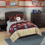 Kids Plaid Camp Scout Comforter Set by Better Homes and Gardens - Capture the spirit of cozy camp nights with the Kids Plaid Camp Scout Comforter Set by Better Homes and Gardens - no sleeping bag required! Choose an...