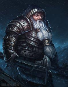 Dwarf, Zwerg, Warrior, Krieger, Larp, Armor, Rüstung, Veteran, Axt, Axe, night