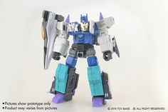 Toy Base Master Series DoubleEvil Unofficial MP-Style Overlord Color Prototype Photos