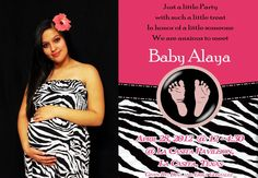 Baby Shower Invitation It's a girl!