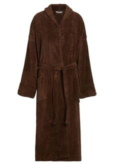 bf8041fb6b Womens velour robe features luxury shawl collar and made of cotton terry  cloth. Bathrobes for women cotton are perfect for after shower or lounging  around.