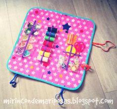 mi rincón de mariposas: Kit de costura infantil