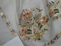 Neşe'nin gözdeleri Zardozi Embroidery, Embroidery Stitches, Hand Embroidery, Embroidery Designs, Turkish Fashion, Turkish Style, Bargello, Baby Knitting Patterns, Diy And Crafts