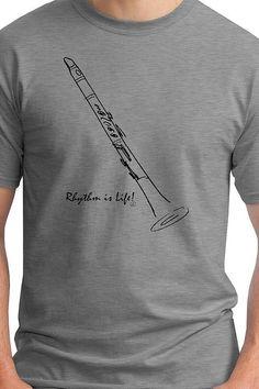Clarinet T-Shirt by RhythmIsLife on Etsy