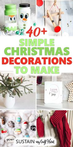 Christmas Holiday Party Decorations,Winter Mantle Home Decor,Santa Festive Party Decor Gold Glittery Feliz Navidad Banner and Gold Glittery Circle Dots Garland