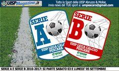 LEGA CALCIO | Aggiornati i Calendario di Serie A e Serie B UISP 2016-2017