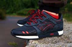sweetsoles: Ronnie Fieg x Asics Gel Lyte III 'Total Eclipse/Leather Toes' (by Zaynt Elfvierundvierzig)