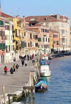The Long and Winding Sidewalk- daily life in Venice Omg we walked this everyday during honeymoon