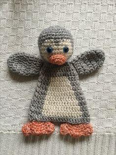 De baby pinguïn lappenpop uit gehaakte lappenpoppen deel 2