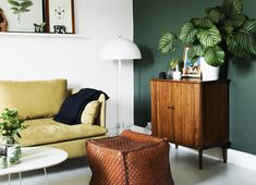 Color crush: Olijfgroen in je interieur