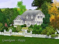 Poppy traditional house by Guardgian - Sims 3 Downloads CC Caboodle