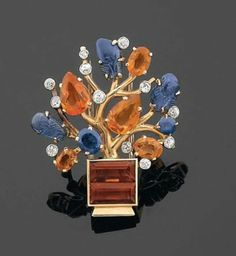 Vintage Brooch by Cartier 1930's
