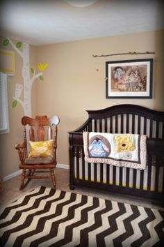Winnie The Pooh Nursery Design Ideas, Pictures, Remodel, and Decor