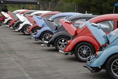 VW Volkswagen Beetle Der Kleiner Panzers by KDFKID, via Flickr