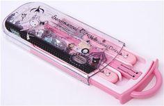 Pink Sentimental Circus Bento Cutlery Set 1