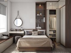 44 Small Master Bedroom Decor Ideas 🏠 homedecor home homedecorideas homedesign kitchen kitchendesign diy decor dresses women womensfashion workout beauty beautiful fashion ideen ideas 🏠 Small Master Bedroom, Master Room, Home Bedroom, Modern Bedroom, Bedroom Decor, Bedroom Ideas, Small Apartments, Small Spaces, Home Interior