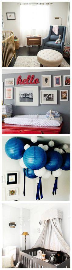 Creative Nursery Decorating Ideas for Boys or Girls #kidsrooms