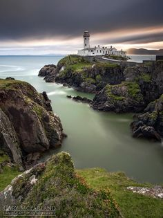 Beacon - A long exposure from sunrise last weekend at Fanad Head Lighthouse in Co Donegal, Ireland.