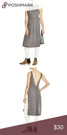 Free people comet tunic Slits on the side. Deep V back. Fold detail on below the chest. M=L Free People Tops