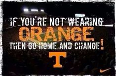 Yep. And make sure that it's Tennessee orange. Can't be having no Texas or Clepson orange round here.