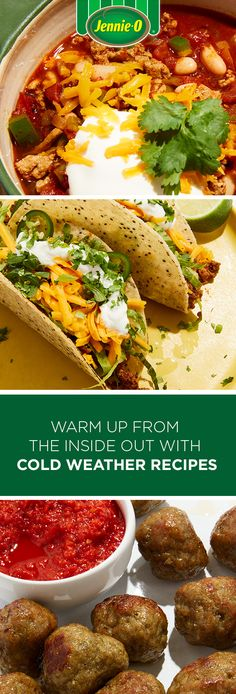 Find a variety of nutritious and easy turkey recipes made with flavorful JENNIE-O® Turkey. Perfect for your next breakfast, lunch or dinner! Slow Cooker Recipes, Beef Recipes, Chicken Recipes, Cooking Recipes, Healthy Recipes, Easy Turkey Recipes, Dinner Recipes, Comfort Food, Turkey Tacos
