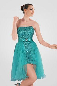 lovely-strapless-sequin-mini-cocktail-dress-with-detachable-over-skirt