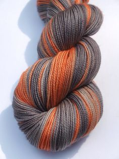 The Doldrums Hand Dyed Fingering/Sock Yarn 100 SW Merino by Quaere, $20.00
