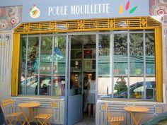 Poule Mouillette - Salon de thé Kids Friendly - 13 rue des Récollets 75010 Paris Restaurant Paris, Paris Restaurants, Brunch In Paris, Resto Paris, Coffee Shop Design, Shop Fronts, Paris City, Children's Place, Trip Planning