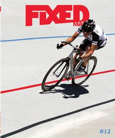 cyclist:  Kelli Samuelson for Fixed Mag.