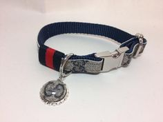 Gucci Dog Collar and Leash Collar with Ribbon Gucci Upcycle