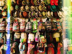 hand made bags from Nepal.