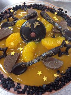 Rudolph chocolate orange cheesecake