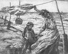 John McGhie etching - The Thell